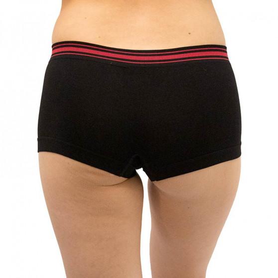 Dámské bambusové kalhotky Gina černé (03010)