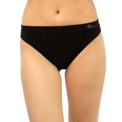 Dámské bambusové kalhotky Gina černé (00046)