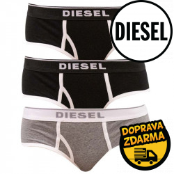3PACK dámské kalhotky Diesel vícebarevné (00SQZS-0EAUF-E4372)