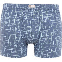 Pánské boxerky Andrie modré (PS 5435 A)