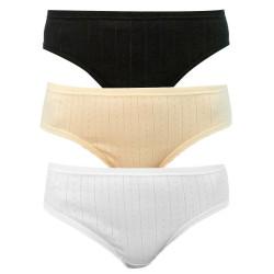 3PACK Dámské kalhotky Andrie vícebarevné (PS 2591 B)