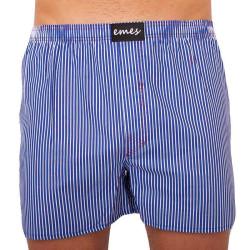 Pánské trenky Emes modré proužky (018)