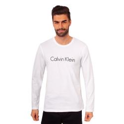 Pánské triko Calvin Klein bílé (NM1345E-100)