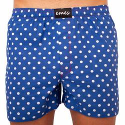 Pánské trenky Emes puntíky na modré (016)