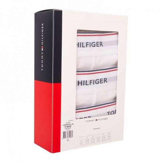 3PACK pánské slipy Tommy Hilfiger bílé (1U87903766 100)