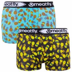 2PACK pánské boxerky Meatfly vícebarevné (Balboa 2 - A)