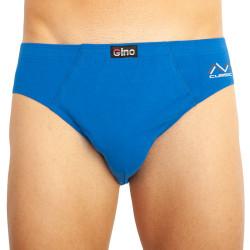 Pánské slipy Gino modré (70063)