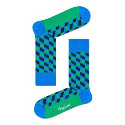 Ponožky Happy Socks Filled Optic Sock (FIO01-6400)