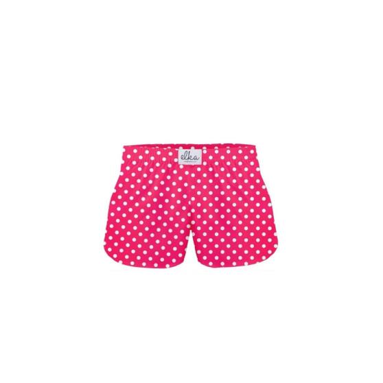 Dětské trenky ELKA růžové s puntíky (B0035)