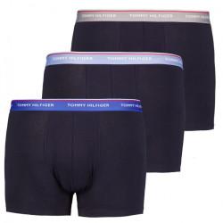 3PACK pánské boxerky Tommy Hilfiger tmavě modré nadrozměr (1U87905252 0T1)