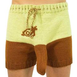 Ručně pletené trenky Infantia (PLET58)