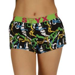 Dámské trenky Styx art sportovní guma jungle (T956)