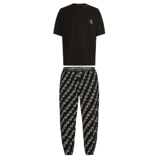 Pánské pyžamo Calvin Klein černé (NM1787E-KLK)
