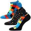 3PACK veselé ponožky Lonka vícebarevné (Weep)