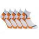 5PACK ponožky Bellinda bílé (BE497565-920)