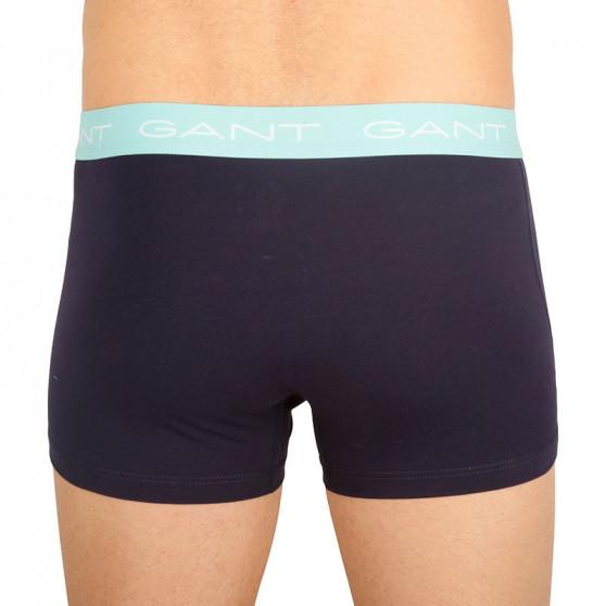 3PACK pánské boxerky Gant tmavě modré (902113003-710)