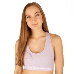 Dámská sportovní podprsenka Puma fialová (604022001 005)