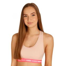 Dámská sportovní podprsenka Puma růžová (604022001 004)