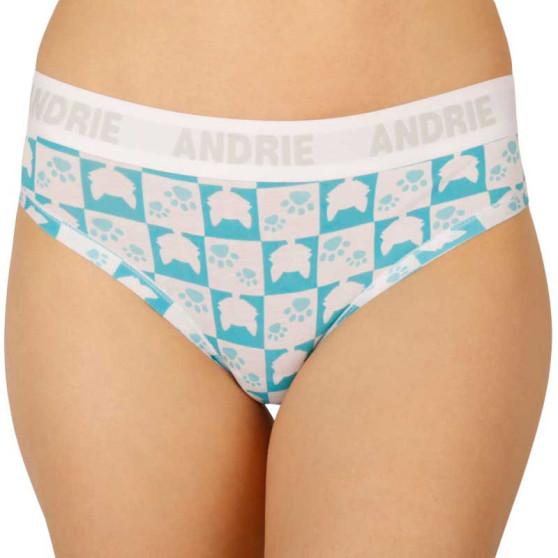 Dámské kalhotky Andrie tyrkysové (PS 2405 B)