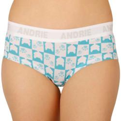 Dámské kalhotky Andrie tyrkysové (PS 2406 A)