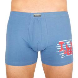 Pánské boxerky Andrie modré (PS 5294 B)