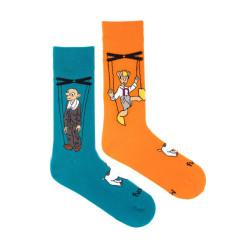 Veselé ponožky Fusakle Spejbl a Hurvínek (--1105)