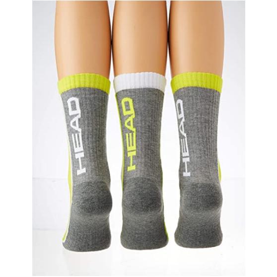 3PACK ponožky HEAD vícebarevné (791011001 004)