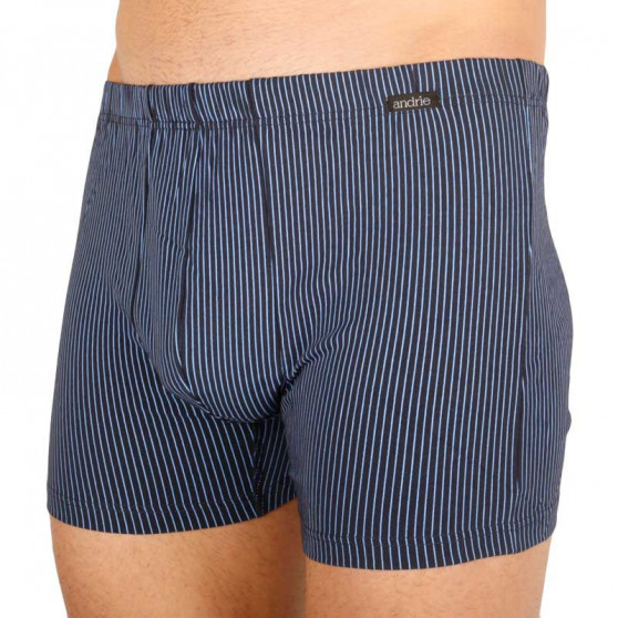 Pánské boxerky Andrie tmavě modré (PS 5541 A)
