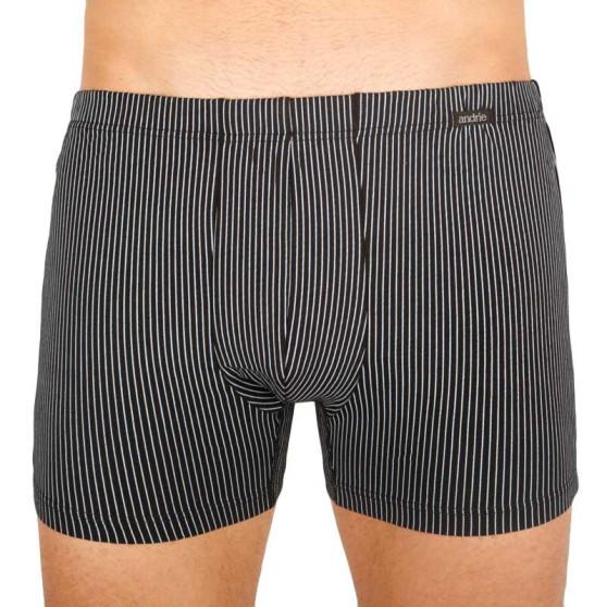 Pánské boxerky Andrie černé (PS 5541 C)
