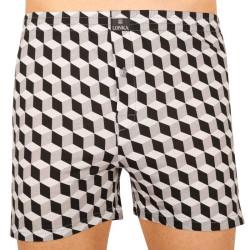 Pánské trenky Lonka šedé (Karlos - cube)