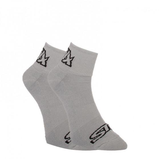 3PACK ponožky Styx kotníkové šedé (HK10626262)