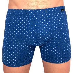 Pánské boxerky Andrie modré (PS 5444 B)