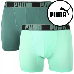 2PACK pánské boxerky Puma sportovní zelené (671017001 004)