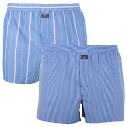2PACK pánské trenky S.Oliver modré nadrozměr (26.899.97.8701.12E1)