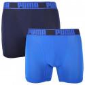 2PACK pánské boxerky Puma sportovní modré (671017001 003)