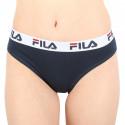 Dámské kalhotky brazilky Fila modré (FU6067-321)