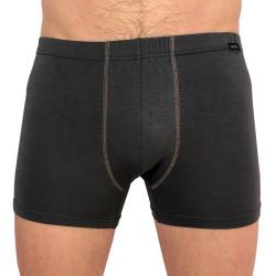 Pánské boxerky Andrie šedé (PS 5287 B)