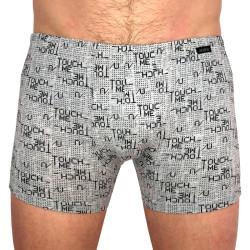 Pánské boxerky Andrie šedé (PS 5426 C)