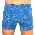 Pánské boxerky Andrie modré (PS 5264 B)