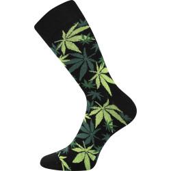 Veselé ponožky Lonka černé (Depate mix K)