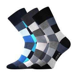 3PACK veselé ponožky Lonka vícebarevné (Decube mix B)