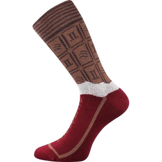 Dámské veselé ponožky Lonka vícebarevné (Chocolate milk dámské)