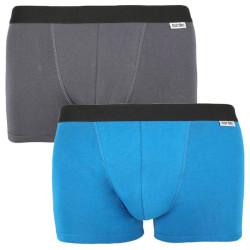 2PACK pánské boxerky Nur Der vícebarevné (827756 - grau/blau)