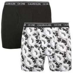2PACK pánské boxerky CK ONE vícebarevné (NB2384A-M2Q)