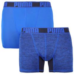 2PACK pánské boxerky Puma sportovní modré (671018001 003)