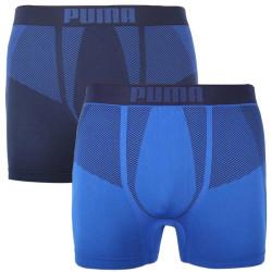 2PACK pánské boxerky Puma sportovní modré (100001255 001)