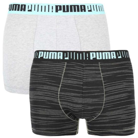 2PACK pánské boxerky Puma vícebarevné (100001140 001)