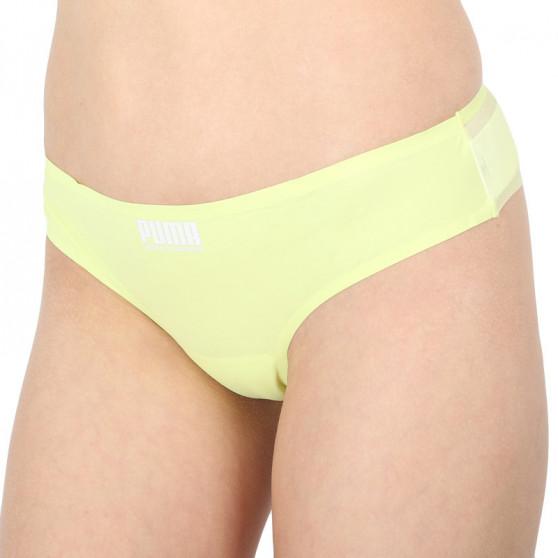 2PACK dámské brazilky kalhotky Puma žluté (100001263 002)