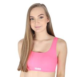 Dámská sportovní podprsenka Puma růžová (100001239 004)
