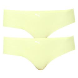 2PACK dámské kalhotky Puma žluté (100001012 005)
